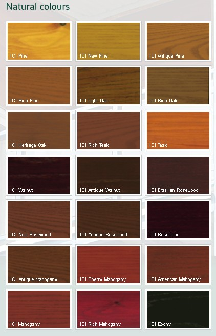 Wood Stain Paint Colours : Dulux Trade Classic Select Woodstain Custom Mixed Colours