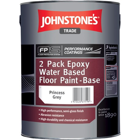 Johnstones Trade 2 Pk Epoxy Water Based Floor Paint Colours 5l