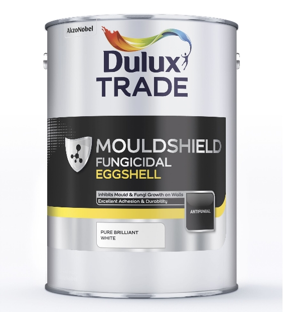 dulux trade mouldshield fungicidal eggshell pure brilliant. Black Bedroom Furniture Sets. Home Design Ideas