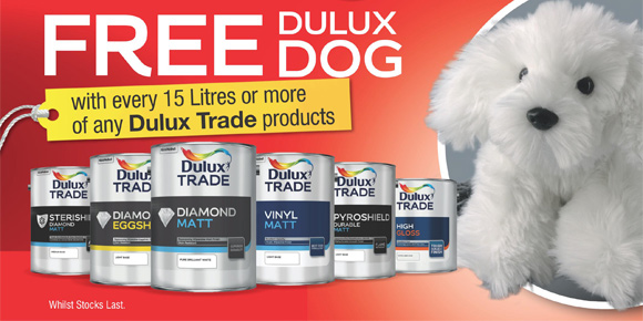 Dulux Dog Promotion