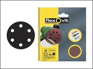 Sanding Discs Velcro Backed 150mm