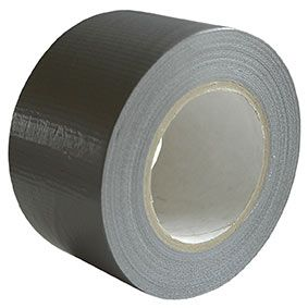 3M 1900 Duct Tape 1900 Black 75mm (3in) x 50m