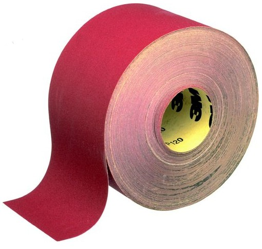3M 241UZ Red Paper Roll 115mm x 50m P40