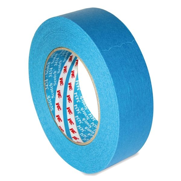 3M 3434 Blue Low Tack Masking Tape 1.5in / 38mm