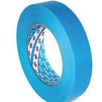 3M 3434 Blue Low Tack Masking Tape 1in / 25mm