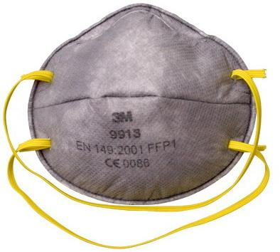 3M 9913 Speciality Disposable Respirator FFP1