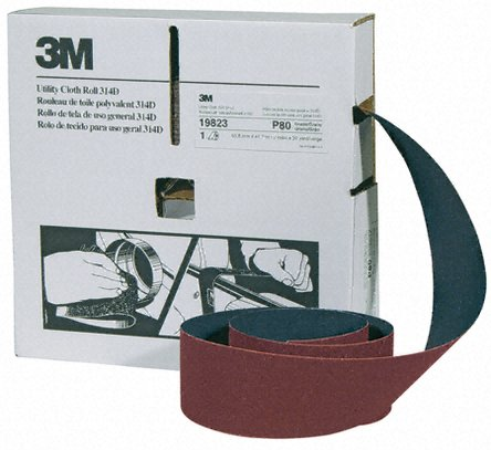 3M Cloth Roll 314D 50mm x 25m P400 (Box of 5)