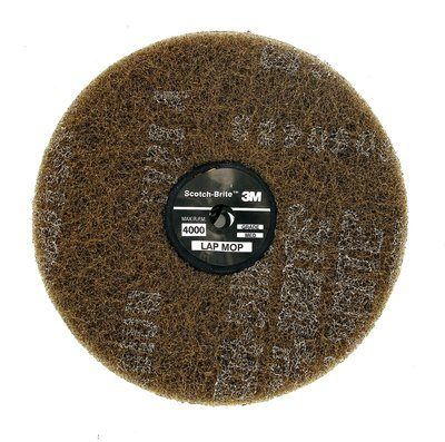 3M Scotch-Brite Lap Mop 100mm x 6 Discs (Box of 8)