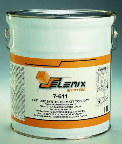 7-611 Fast Dry Synthetic Matt Topcoat 5 Litre