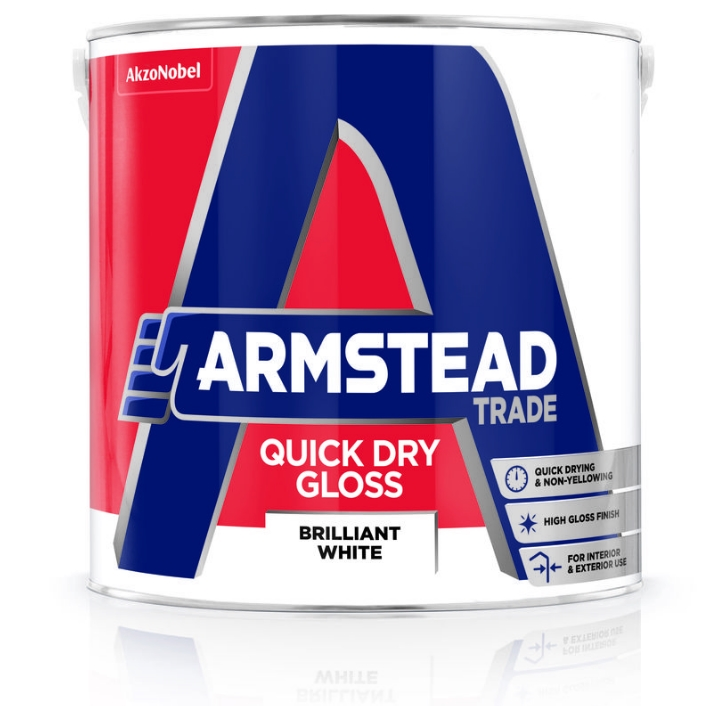 Armstead Trade Quick Dry Gloss Custom Mixed Colours 2.5L