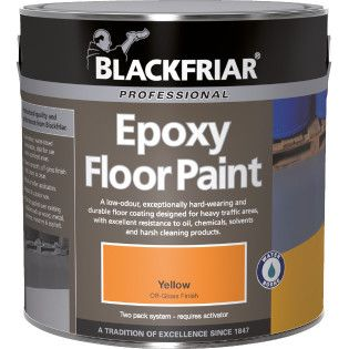 Blackfriar Epoxy Floor Paint Custom Mixed Colours 5L