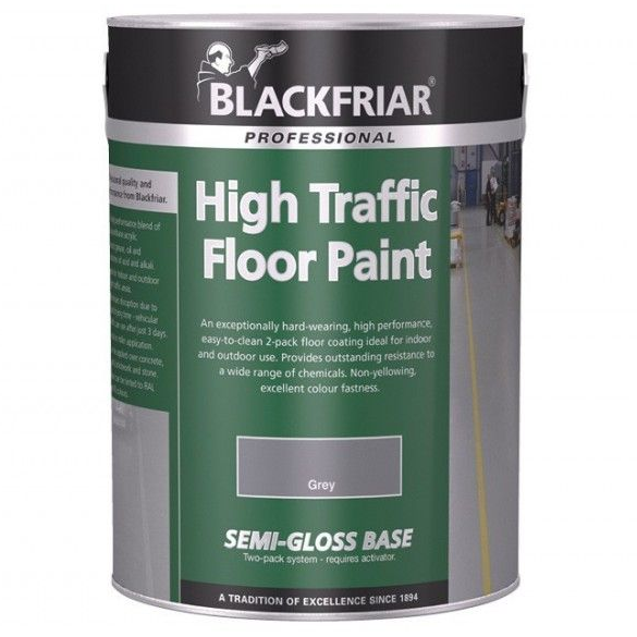 Blackfriar High Traffic Floor Paint Standard Colours 5L