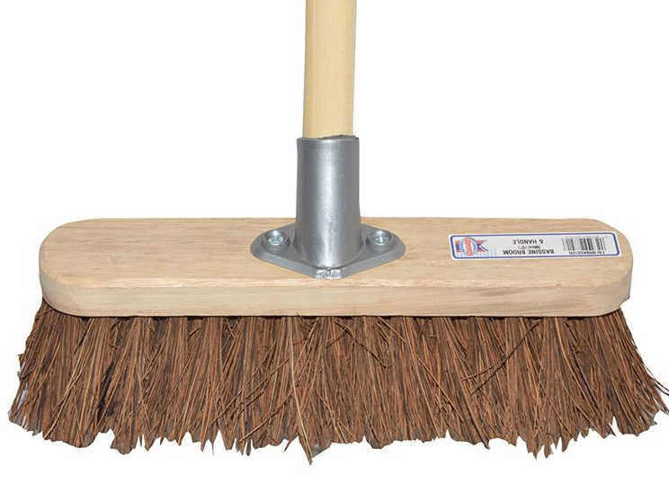 Broom with handle 30cm (12in) Head with 48in Handle