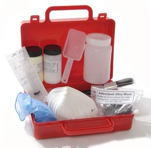 Chemical Mercury Spill Kit