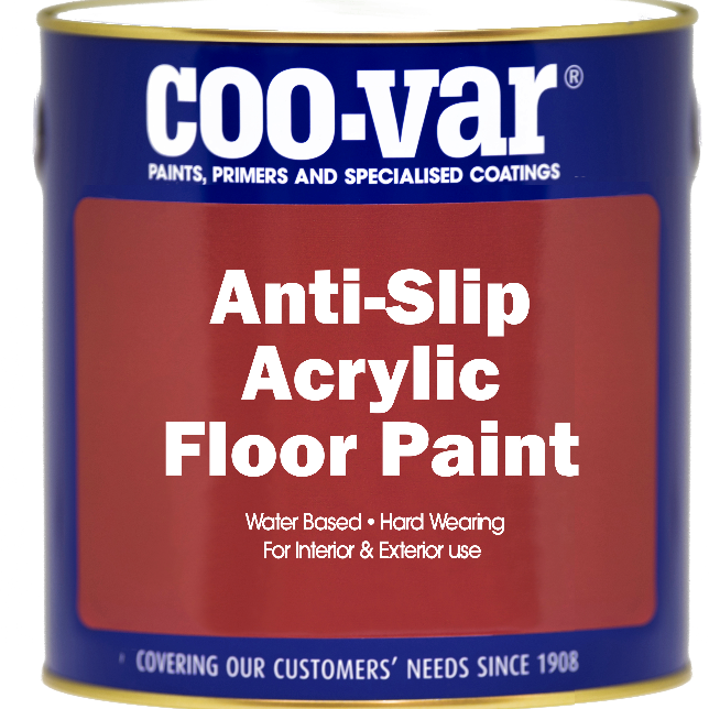 Coovar Anti-Slip Acrylic Floor Paint 2.5L