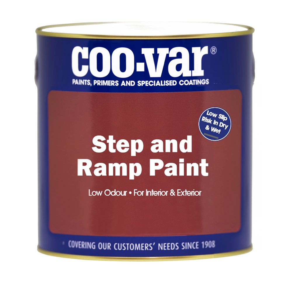 Coovar Anti-Slip Step and Ramp Paint 1L