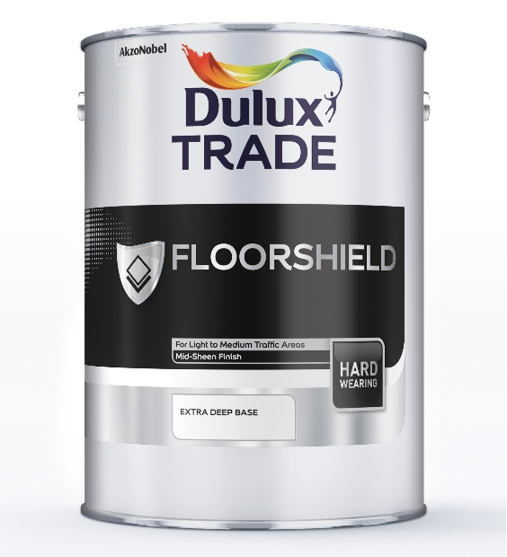 Dulux Trade Floorshield Ash Grey 5L