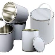 Empty Paint Tins