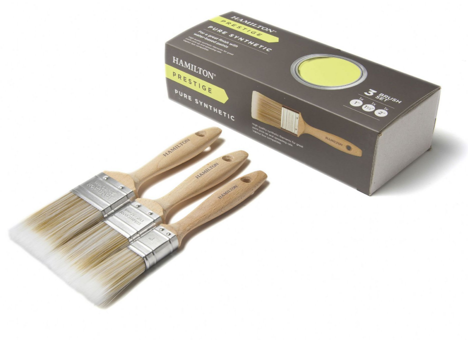 Hamilton Prestige Pure Synthetic 3 Brush Box Set