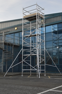 HiLyte 500 Industrial Tower Scaffold System 2.5m Long, 0.85m Wide