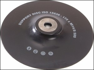 ISO Angle Grinder Pad  Soft 180mm M14 x 2.0