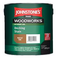 Johnstones Trade Woodworks Decking Stain 2.5L