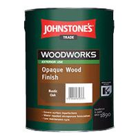 Johnstones Trade Woodworks Opaque Wood Finish Custom Mixed Colours