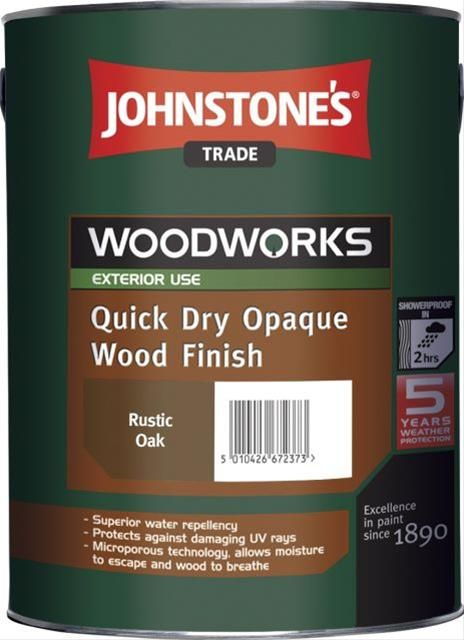 Johnstones Trade Woodworks Quick Dry Opaque Wood Finish Custom Mixed Colours