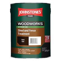 Johnstones Trade Woodworks Shed & Fence Treatment 9L