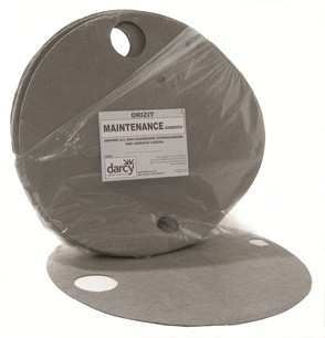 Maintenance Absorbent Drum Top Pad - 25