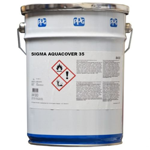 PPG Sigma AquaCover 35 Light Grey 9553