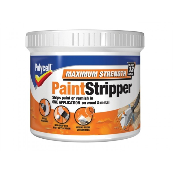 Polycell Maximum Strength Paint Stripper 1L