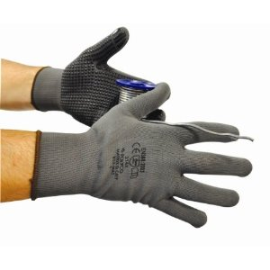 Polyco Matrix D Grip Handling Gloves Grey (Pack of 12)