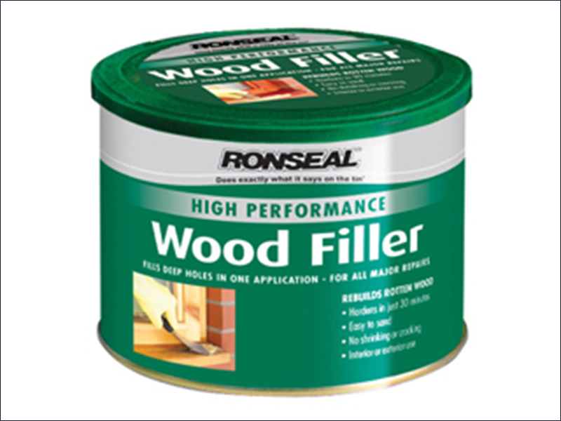 Ronseal High Performance Wood Filler White 3.7kg