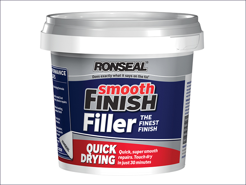 Ronseal Smooth Finish Quick Drying Multi Purpose Filler 600g