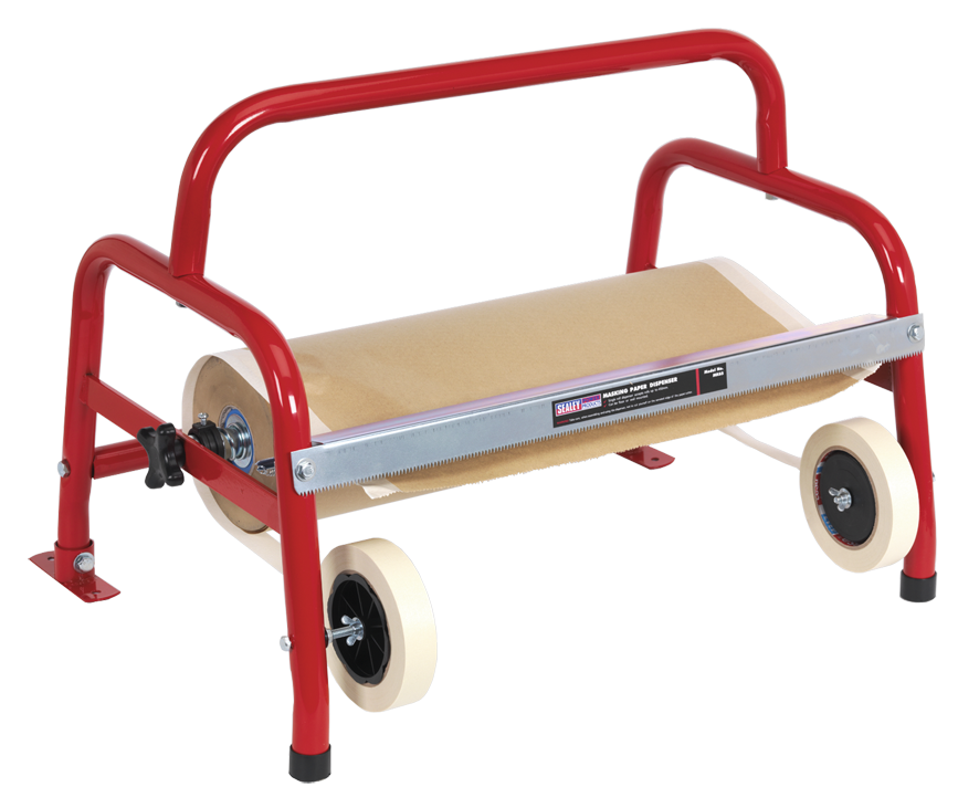Sealey Masking Paper Dispenser 1 x 450mm Floor Mounting