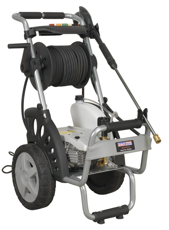 Sealey Professional Pressure Washer 150bar with TSS & Nozzle Set 230V