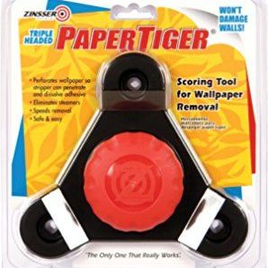 Zinsser DIF Paper Tiger Triple Head Wallpaper Stripping Tool