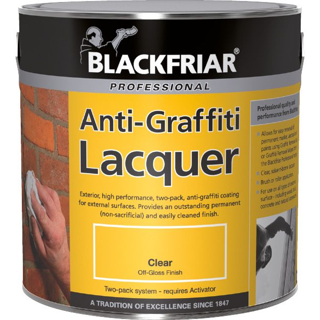 Blackfriar Anti-Graffiti Lacquer 5L