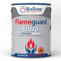 Bollom Flameguard Ultra Vinyl Matt Topcoat Custom Mixed Colours 5L