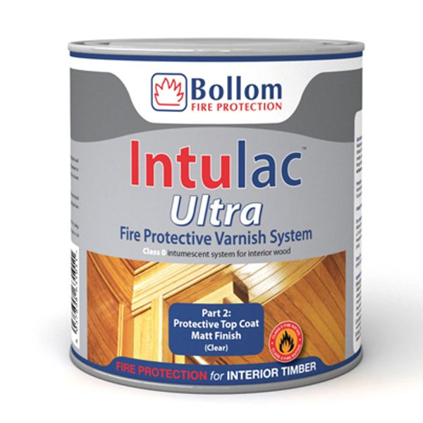 Bollom Intulac Ultra Topcoat for Timber 500ml