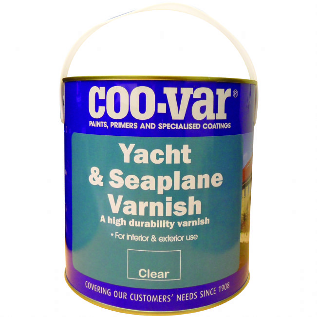 Coovar Yacht & Seaplane Varnish 5L