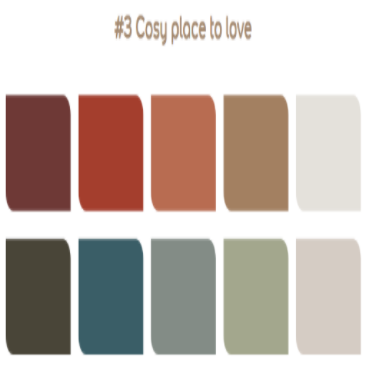 Cozy place to love palette #3