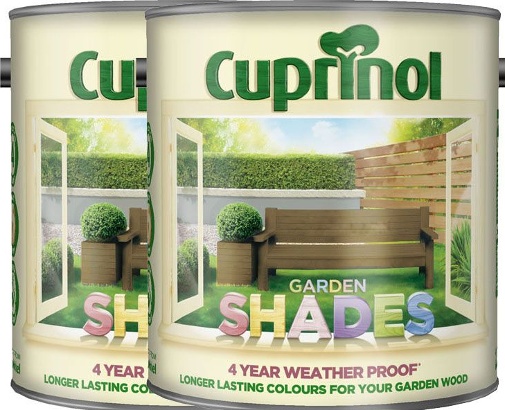 Cuprinol Garden Shades 2.5L twin pack special offer