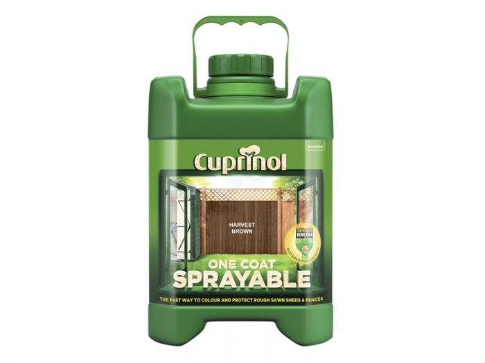 Cuprinol One Coat Sprayable Fence Treatment 5L