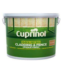 Cuprinol Quick Drying Cladding & Fence Opaque 10L