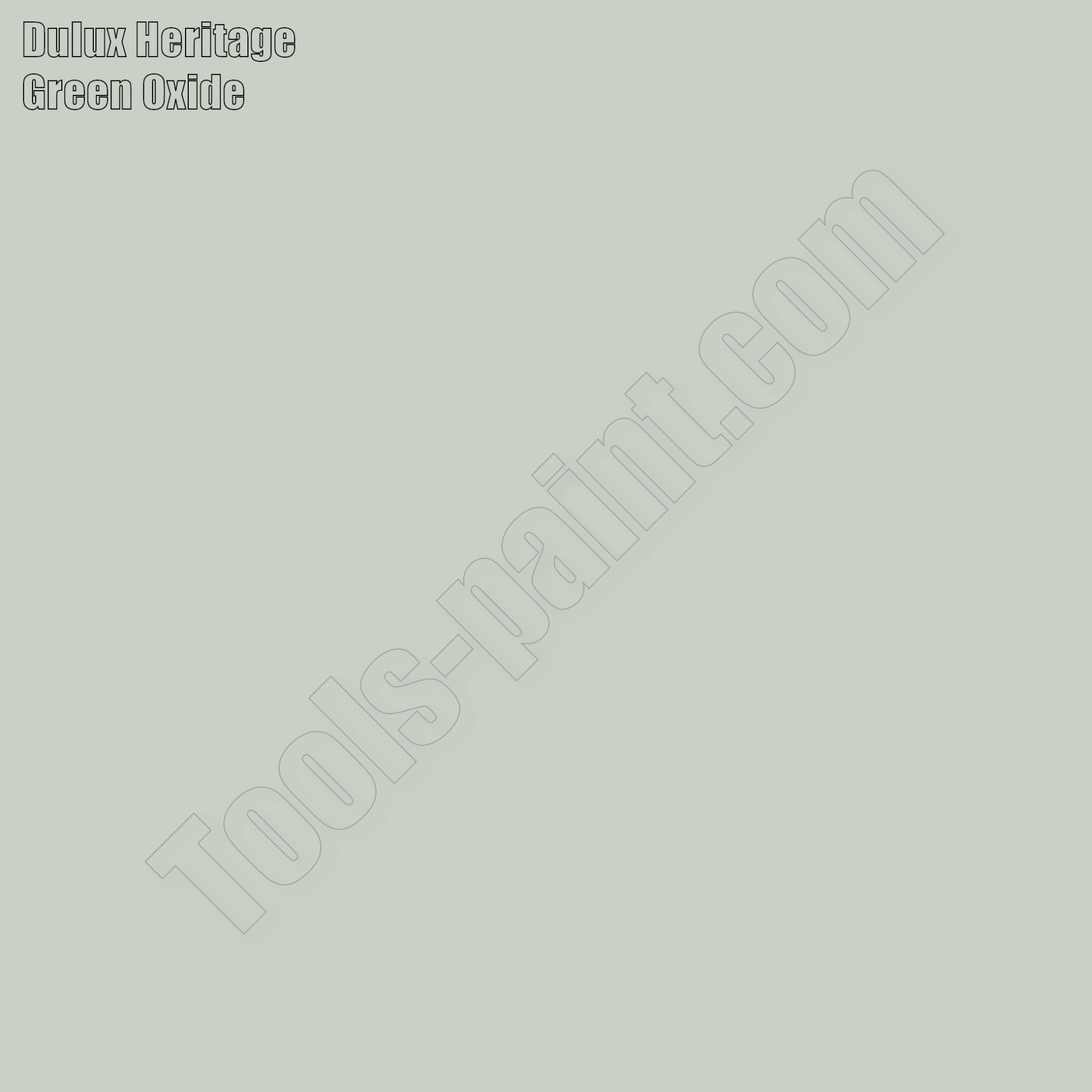 Dulux Heritage Green Oxide