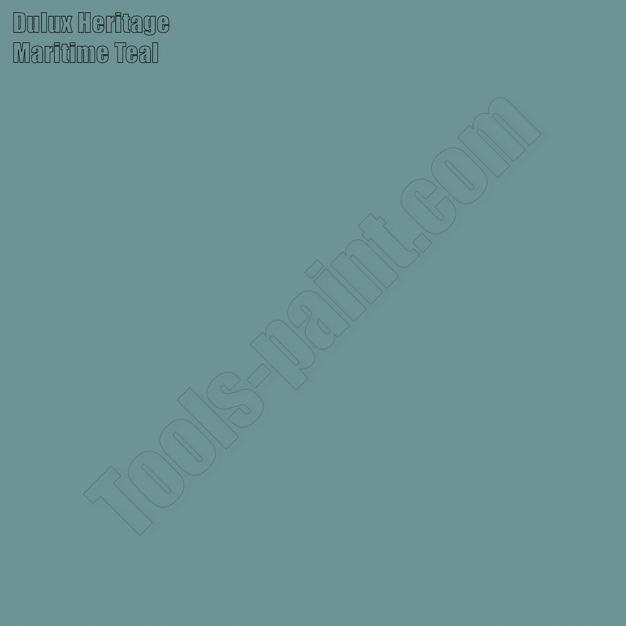 Dulux Heritage Maritime Teal