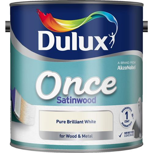 Dulux Once Satinwood Colours 750ml