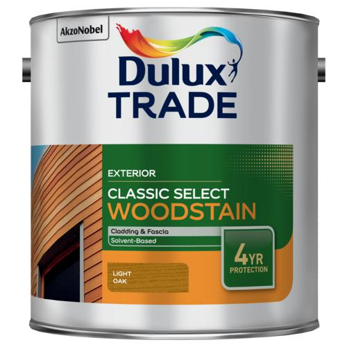 Dulux Trade Classic Select Woodstain Light Oak